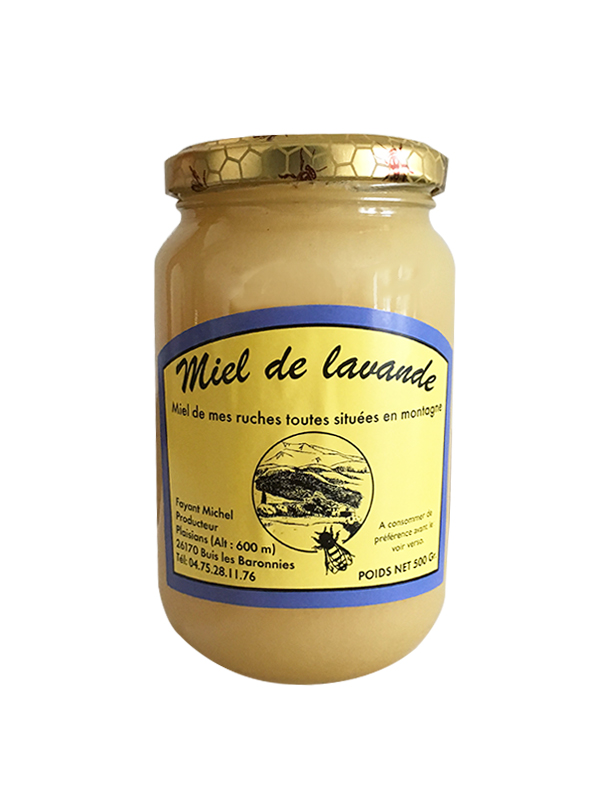 miel lavande france 500 g