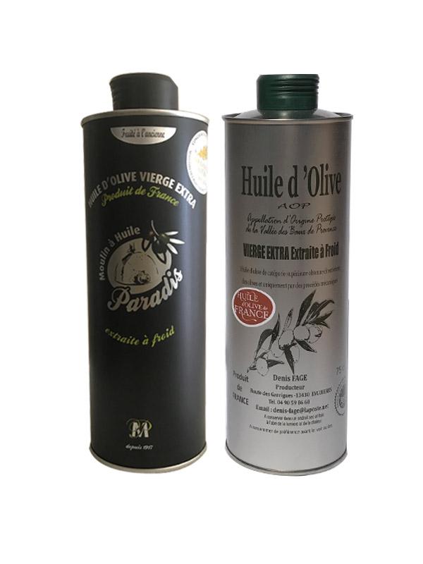 coffret-huile-olive-Fruite-Vert-Ancienne-france